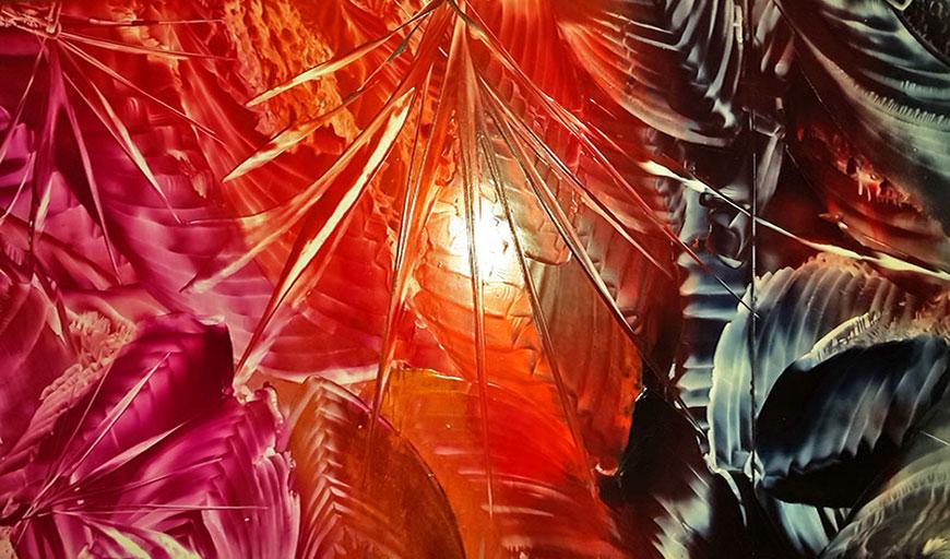 Encaustic-Ecke | Galerie Malkarten, Stefanie Schwalm